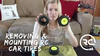 HOW TO REMOVE RC TIRES   Using the bake method
