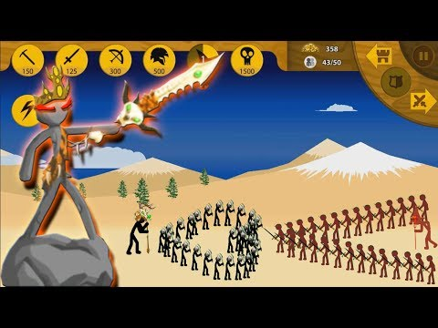 savage-magikills-vs-red-(magikill,-sword,-archidon)-►-stick-war-legacy-huge-2019-►-kool-game
