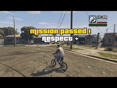 GTA V: San Andreas - First Mission