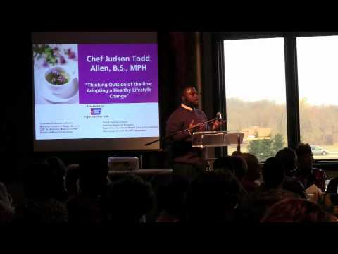 Chef Judson Todd Allen   Keynote For American Cancer Society