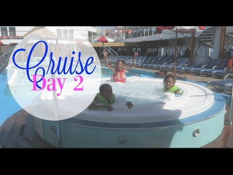 Carnival Cruise with kids - Day 2 September 2017 - Catalina