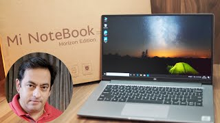 Mi Notebook 14 Unboxing & first impressions - Mi Laptop India, Worth it?