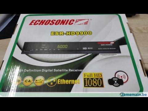 echosonic hd 9900 cccam etape-etape /electronique