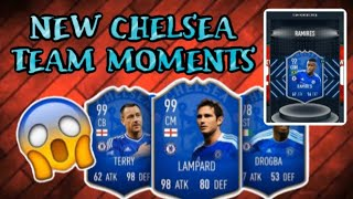 NEW CHELSEA team moments Pack Opening (insane)