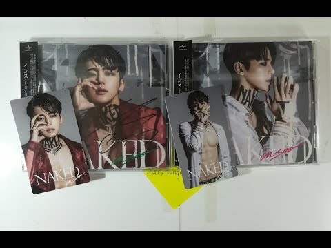 Unboxing INSOO (インス) from MYNAME - 『NAKED』1st Japanese Solo Mini Album