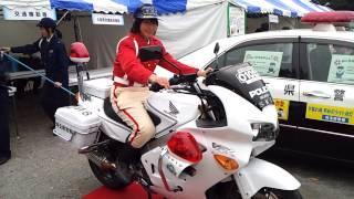 埼玉県警 交通機動 隊 美人白バイ