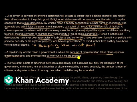 federalist-no.-10-(part-1)-|-us-government-and-civics-|-khan-academy