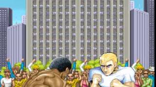 Street fighter II intro fight