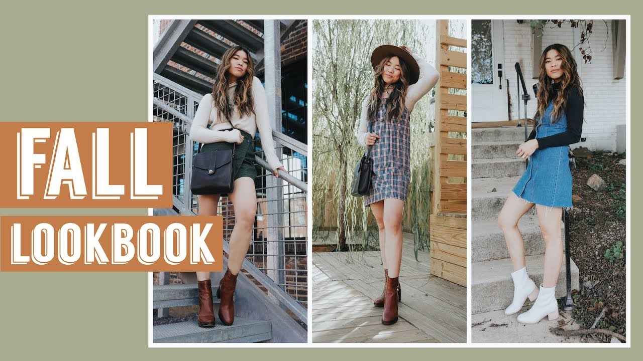 FALL LOOKBOOK 2018 - OUTFIT IDEAS // by CHLOE WEN 7