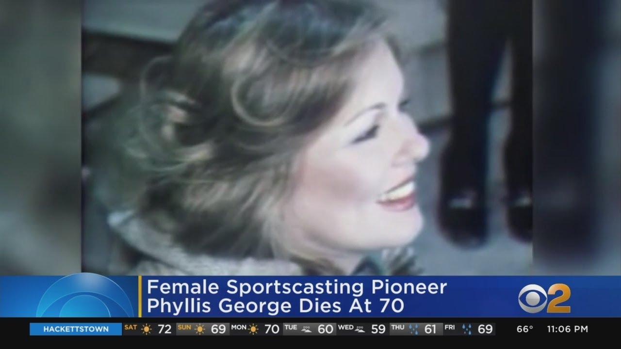 Phyllis George, female sportscasting pioneer, dies at 70
