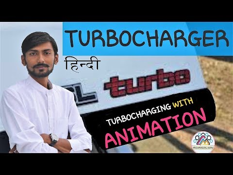 [HINDI] TURBOCHARGER & TURBOCHARGING ~ WITH ANIMATION ~ TURBO LAG, SUPERCHARGING & MUCH MORE