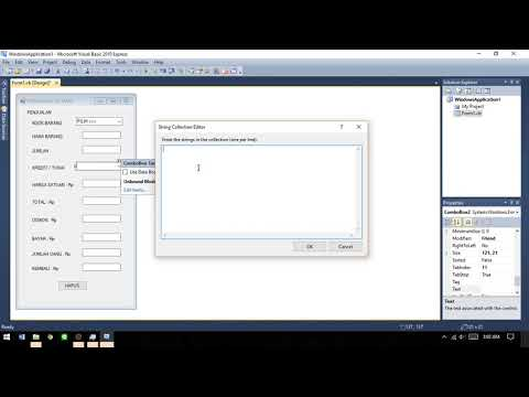 Cara Membuat Aplikasi Dengan Visual Basic 2010