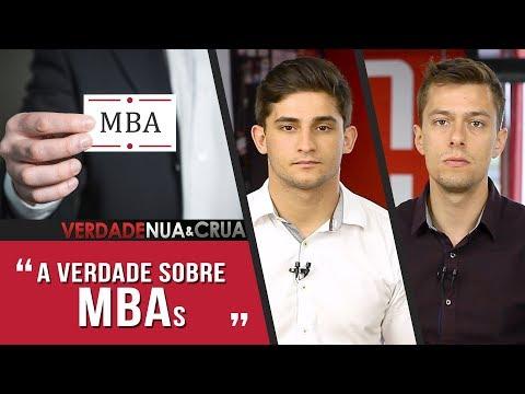 VALE A Pena FAZER Um MBA?   V4 VERDADE NUA E CRUA