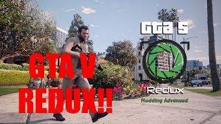 GTA V REDUX NA NVIDIA GTX 1060 MOBILE!! [PT-BR]
