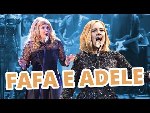 Fafa de Belém cantando Adele: RUIM?