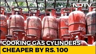 LPG Cooking Gas Cylinders Cheaper By Rs. 100.50 From Today