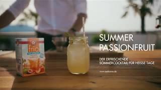 Summer Passionfruit mit TEEKANNE frio Pfirsich Maracuja
