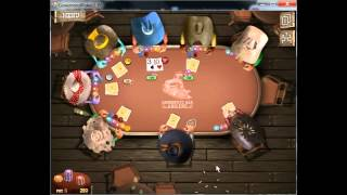 """Abilene Texas, Rough First Place Win.""""Governor of Poker 2"""""""