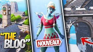 """EPIC GAMES LEAK LE PROCHAIN SKIN, PROCHAINE ZONE """"Le Bloc"""" & PLUS sur FORTNITE ! (Fortnite News)"""