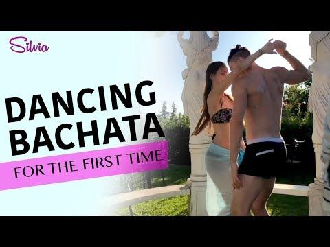 My first time DANCING BACHATA - Silvia Brazzoli w Giulio Dilemmi