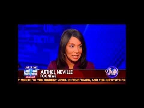 Bill O'Reilly Pisses Off Arthel Neville