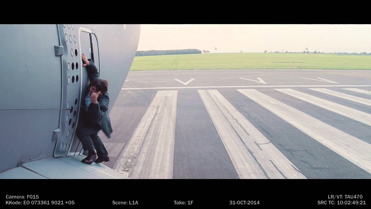 Mission Impossible Rogue Nation Stunt Featurette YouTube - Behind the scenes of the insane plane stunt in mission impossible rogue nation