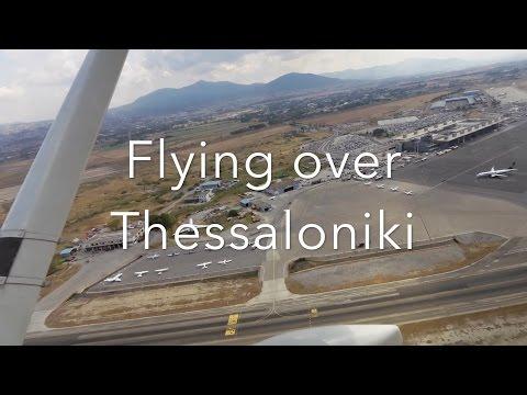 Flying over Thessaloniki | Cessna 172 | SX-AVP