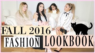 2016 Fall Fashion Lookbook | V squad