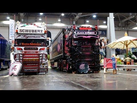 RC Trucks - Modell - Hobby -  Spiel   Messe Leipzig 2019 - Part 1