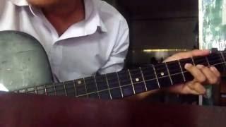 Hai mùa mưa - guitar