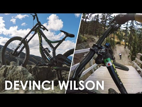 Testing out a Devinci Wilson - Whistler Bike Park (2016)