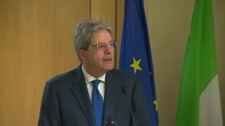 Il Presidente Gentiloni interviene al CRO di Aviano (16/04/2018)