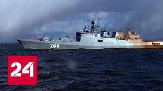 """На Балтике успешно испытали сторожевик """"Адмирал Макаров"""""""