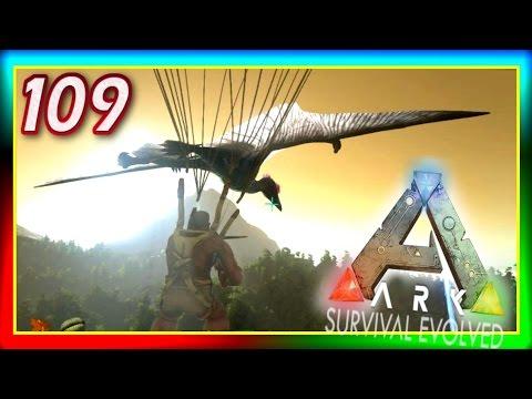 ARK: Survival Evolved - GRAPPLING HOOK QUETZAL TAMING + Terror Bird! - S2E109 (Modded Gameplay)