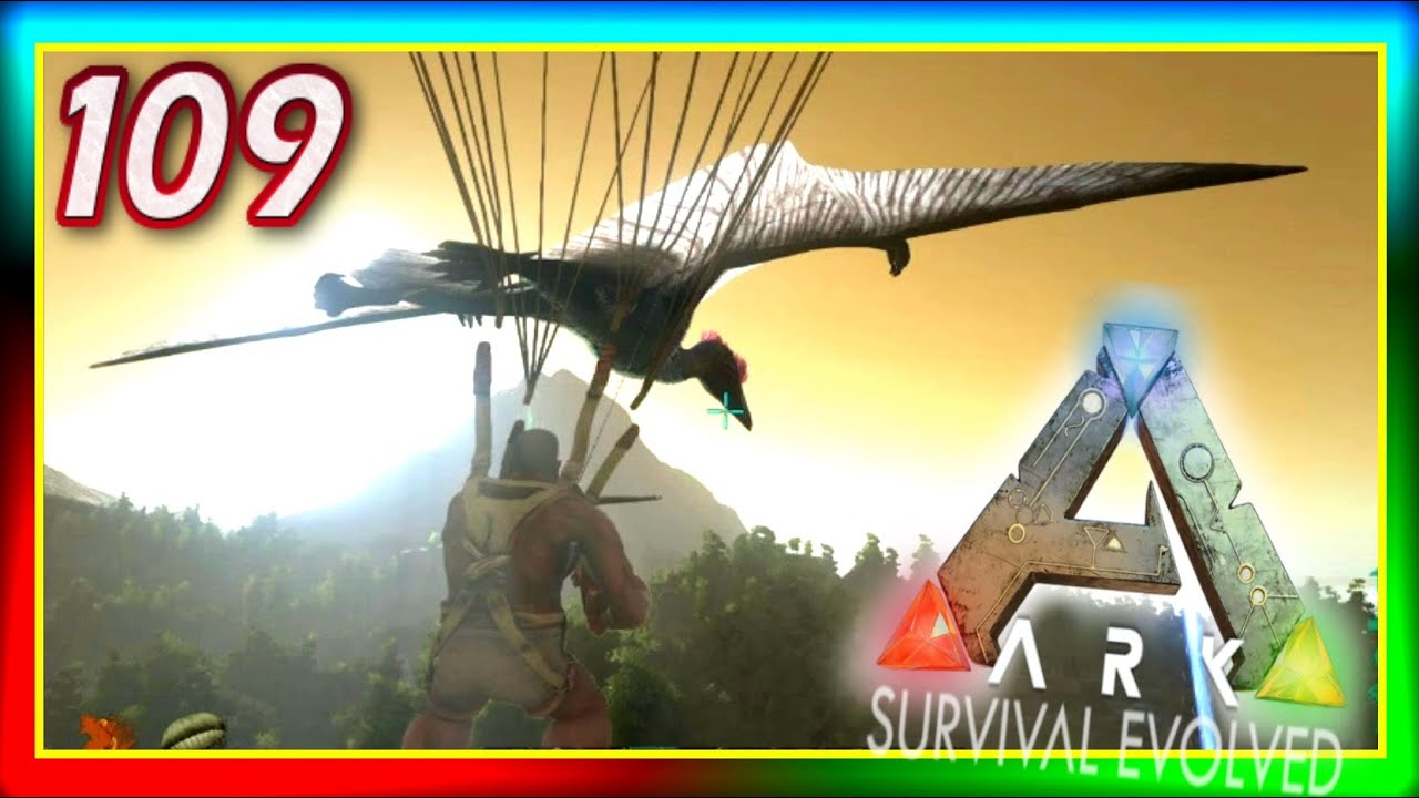 Ark survival evolved grappling hook quetzal taming terror bird ark survival evolved grappling hook quetzal taming terror bird s2e109 modded gameplay youtube malvernweather Gallery