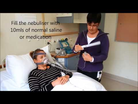 Using A Nebuliser With The Ventilator