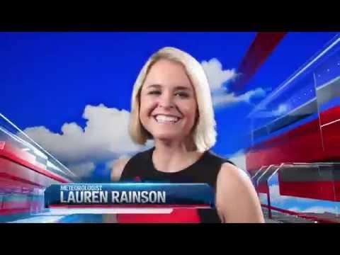 Meteorologist Lauren Rainson Weather Open 2016