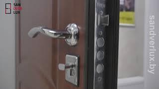 Обзор входной двери Йошкар Стройгост 7-2 цвет Итальянский орех - Sandverlux.by