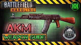 akm review gameplay best gun setup   battlefield hardline weapon guide bfh