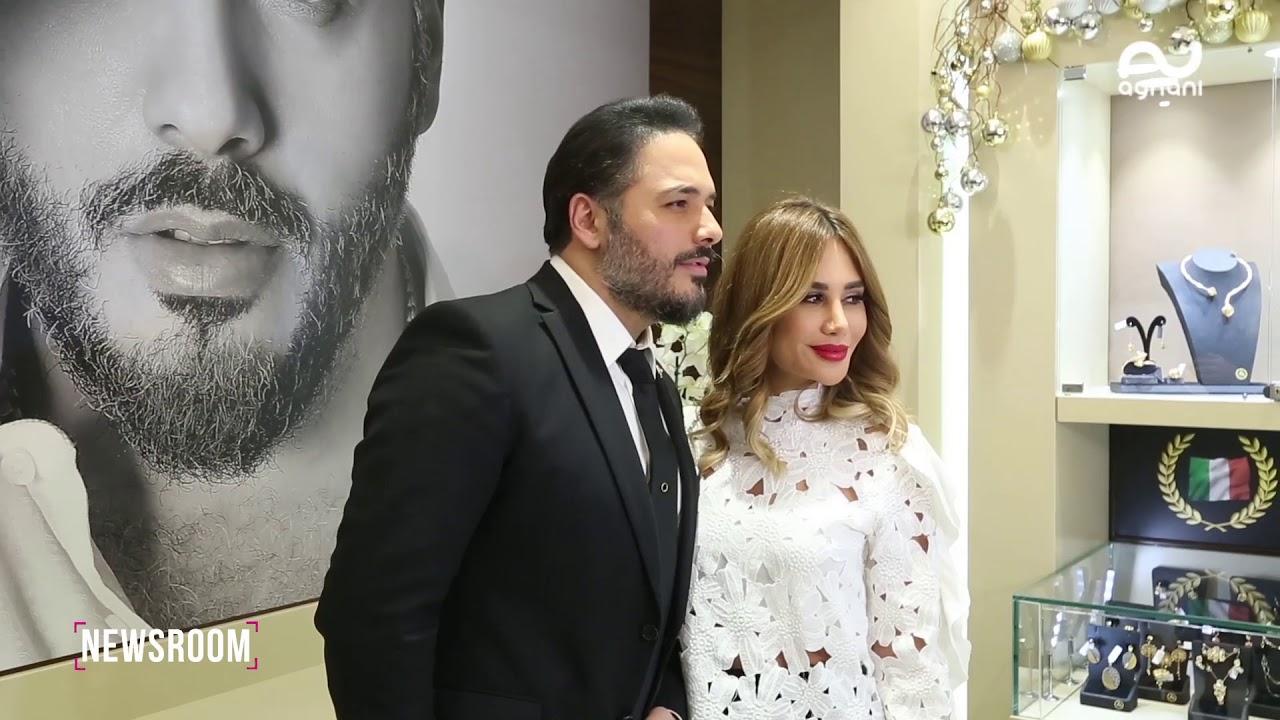 رامي عياش يطلق خطّه الخاص في عالم المجوهرات.. وإليكم كواليس إطلالته مع زوجته داليدا!