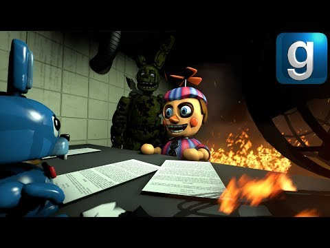 Gmod FNAF | Burning Five Nights at Freddy's 3 To The Ground!!! [Part 1] thumbnail