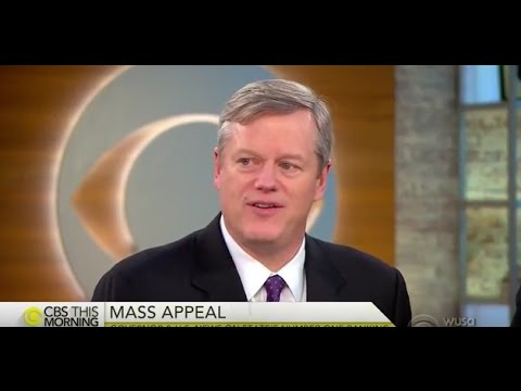 Massachusetts Gov. Charlie Baker on CBS This Morning