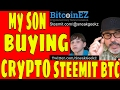 What Cryptocurrency Im Buying Right Now... Bitcoin Portfolio..Buying Steem Coin