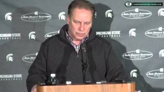 Tom Izzo Press Conference: Javon Bess Return, TumTum Nairn energy, Twitter bullying