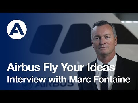 Marc Fontaine: Airbus DTO & Fly Your Ideas Sponsor
