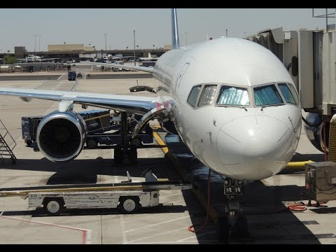 *FULL FLIGHT* US Airways Boeing 757-200 [N909AW] full flight LAX-PHX