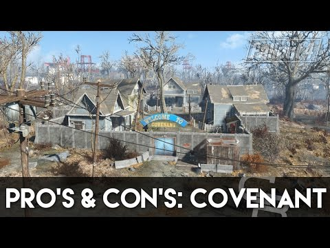 Fallout 4 - Pros & Cons: Covenant (Fallout 4 Settlement Review)
