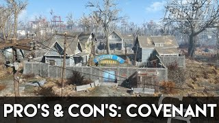 Fallout 4 - Pros Cons Covenant Fallout 4 Settlement Review