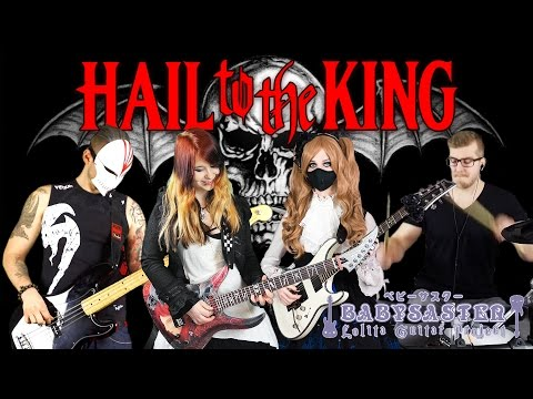 【AVENGED SEVENFOLD】「Hail to the King」BAND  with JJs One Girl Band, De Sade and Kri Drumnerd