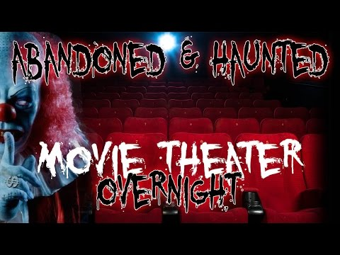 HAUNTED MOVIE THEATER AT 3AM - DEMON BREAKS CAMERA!